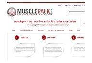 Musclepack Uk Coupon Codes September 2021