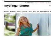 Myblingandmore Coupon Codes August 2020