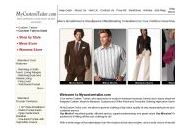 Mycustomtailor Coupon Codes January 2019