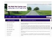 Mypinkpetcarrier Coupon Codes January 2021