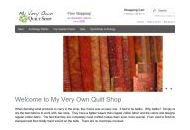 Myveryownquiltshop Coupon Codes July 2018