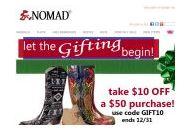 Nomadfootwear Coupon Codes December 2020