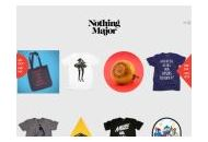 Nothingmajor Coupon Codes April 2019