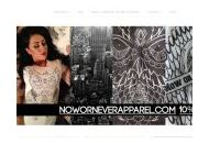 Noworneverapparel Coupon Codes March 2021