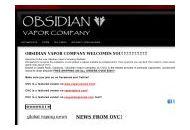 Obsidianvapor Coupon Codes March 2019