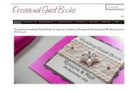 Occasionalguestbooks Uk Coupon Codes August 2019