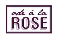 Ode A La Rose Coupon Codes January 2019