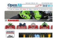 Openairpowersports Coupon Codes July 2021