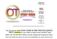 Otstudyguide Coupon Codes February 2018