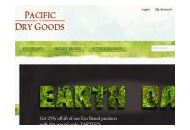 Pacificdrygoods Coupon Codes March 2021