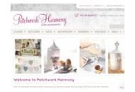 Patchworkharmony Uk Coupon Codes March 2021