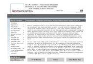 Photomountsuk Uk Coupon Codes May 2021