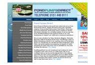 Pondpumpsdirect Coupon Codes November 2020