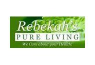 Rebekah's Pure Living Coupon Codes January 2019