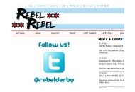 Rebelderby Coupon Codes August 2020