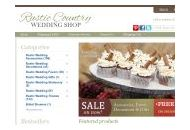 Rusticcountryweddingshop Coupon Codes September 2018