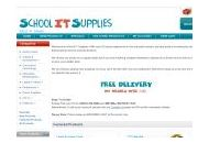 Schoolitsupplies Coupon Codes October 2018