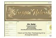 Scrappinnaturally Coupon Codes February 2020