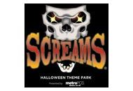 Screams Halloween Theme Park Coupon Codes March 2018