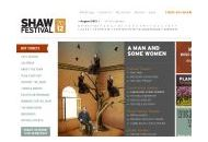 Shaw Festival Theatre Coupon Codes May 2021