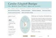 Shopcarolineelizabeth Coupon Codes October 2021
