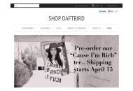 Shopdaftbird Coupon Codes April 2020