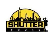 Shutter Tours Coupon Codes June 2019