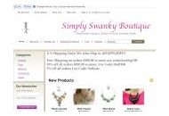 Simplyswankyboutique Coupon Codes January 2018