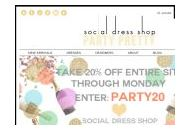 Socialdressshop Coupon Codes July 2018