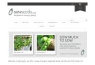 Sowseeds Uk Coupon Codes October 2018