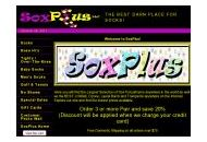 Soxplus Coupon Codes October 2020