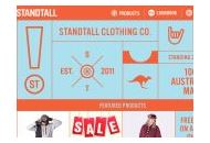 Standtallclothing Au Coupon Codes August 2018
