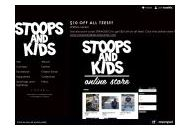 Stoopsandkids Coupon Codes March 2021