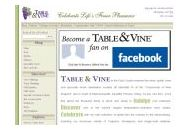 Tableandvine Coupon Codes February 2018