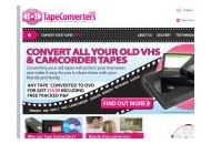 Tapeconverters Coupon Codes June 2020
