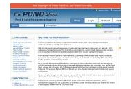 Thepondshop Coupon Codes December 2018
