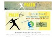 Therealpaleofx Coupon Codes March 2019