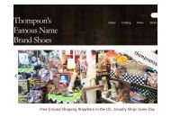 Thompsons-shoes Coupon Codes August 2020