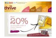 Thrivevitamins Uk Coupon Codes July 2021