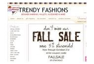 Trendy-fashions Coupon Codes January 2018