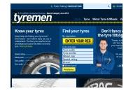 Tyremen Uk Coupon Codes February 2019