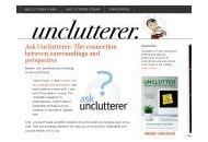 Unclutterer Coupon Codes October 2018