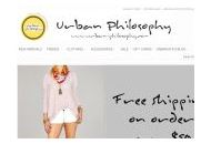Urban-philosophy Coupon Codes January 2019
