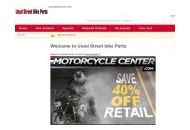 Usedstreetbikeparts Coupon Codes April 2020