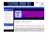 Vapourjuice Uk Coupon Codes March 2021