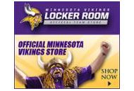 Minnesoca Vikings Locker Room Official Team Store Coupon Codes January 2021