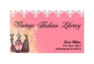 Vintage Fashion Library Coupon Codes August 2018