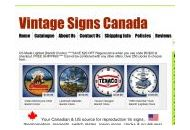 Vintagesignscanada Coupon Codes February 2019