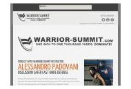Warrior-summit Coupon Codes September 2018