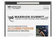Warrior-summit Coupon Codes April 2018